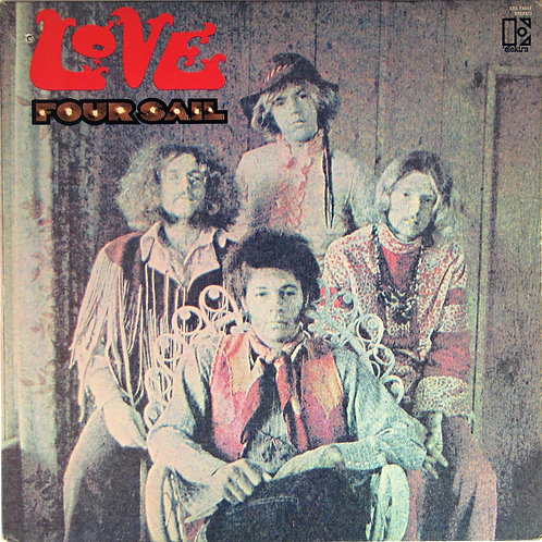 LOVE - FOUR SAIL (COLOURED VINYL)