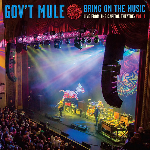 GOV'T MULE - BRING ON THE MUSIC : LIVE AT CAPITOL THEATRE VOL.1 (COLOURED VINYL)