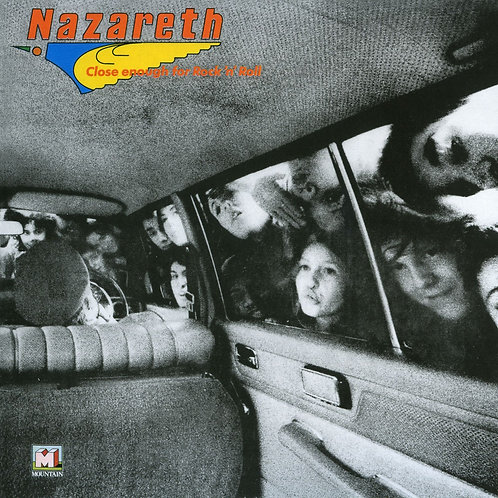 NAZARETH – CLOSE ENOUGH FOR ROCK 'N' ROLL (COLOURED VINYL)