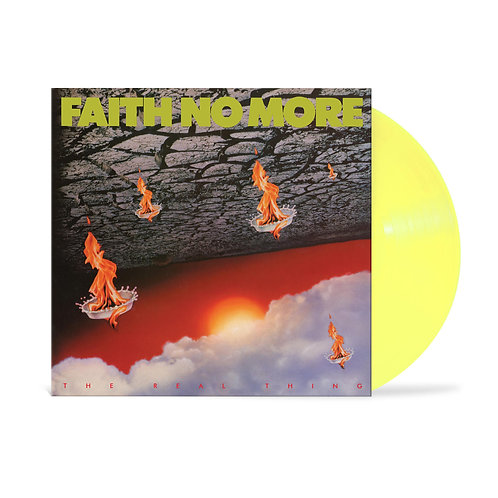 FAITH NO MORE - THE REAL THING (COLOURED VINYL)