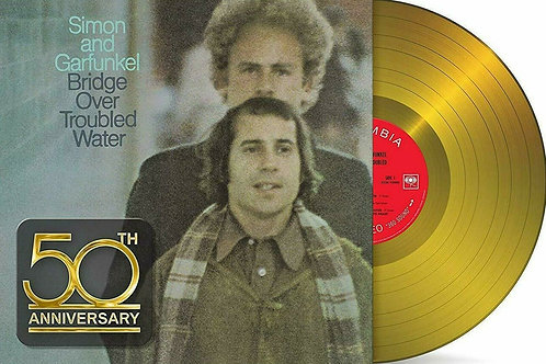 SIMON & GARFUNKEL - BRIDGE OVER TROUBLED WATER (COLOURED VINYL)
