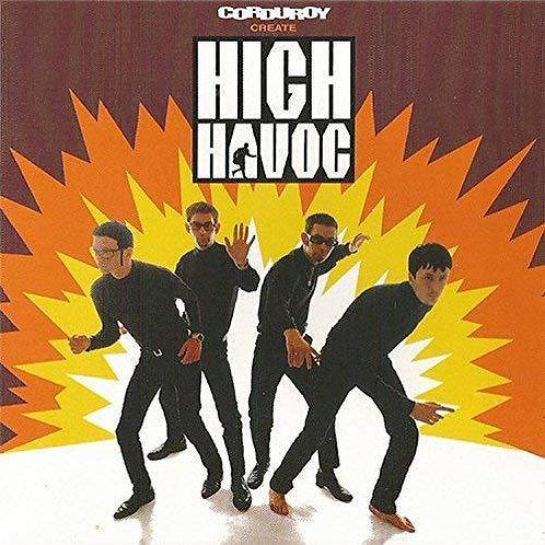 CORDUROY - HIGH HAVOC (COLOURED VINYL)