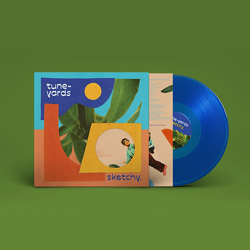 TUNE-YARDS -SKETCHY (COLOURED VINYL)