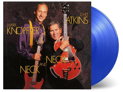 KNOPFLER, MARK AND CHET ATKINS - NECK AND NECK (COLOURED VINYL)