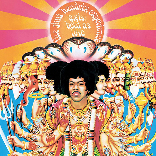 HENDRIX , JIMI - AXIS: BOLD AS LOVE (MONO)