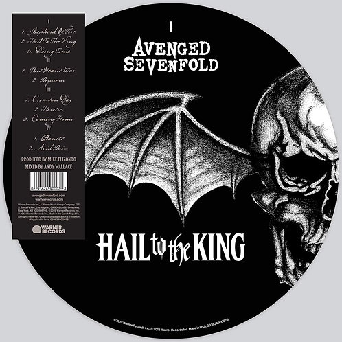 AVENGED SEVENFOLD - HAIL TO THE KING (PICTURE DISC)