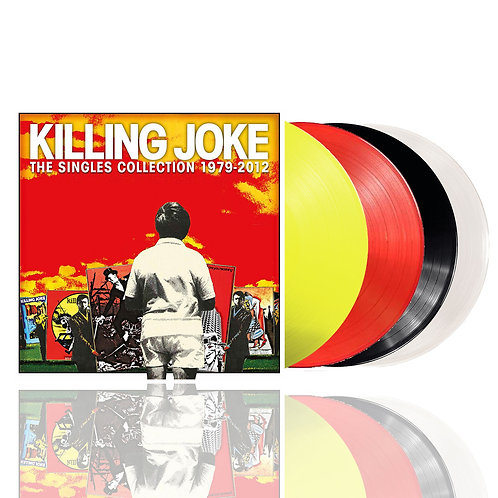 KILLING JOKE - SINGLES COLLECTION 1979-2012 (COLOURED VINYL)