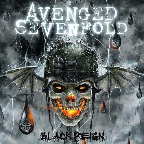 """AVENGED SEVENFOLD - BLACK REIGN 10"""" EP"""