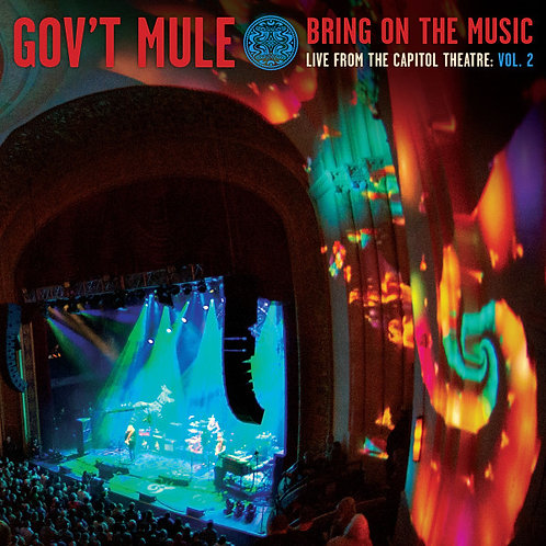 GOV'T MULE - BRING ON THE MUSIC : LIVE AT CAPITOL THEATRE VOL.2 (COLOURED VINYL)