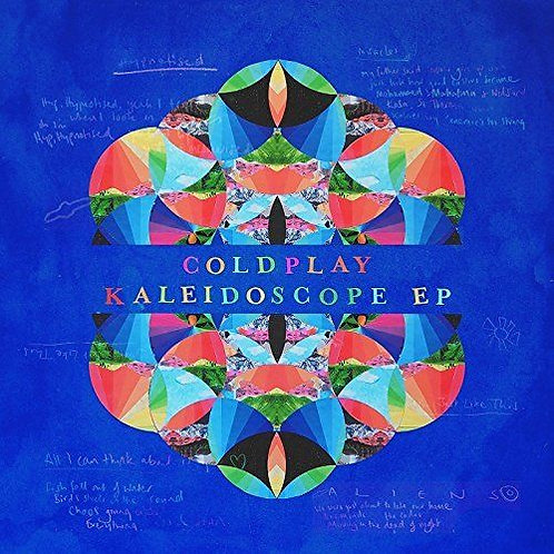 COLDPLAY - KALEIDOSCOPE EP (COLOURED VINYL)