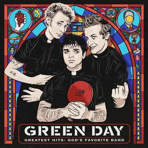 GREEN DAY - GREATEST HITS: GOD'S FAVOURITE BAND