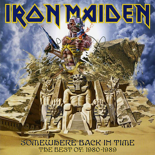 IRON MAIDEN - SOMEWHERE BACK IN TIME (PICTURE DISC)