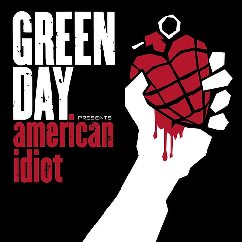 GREEN DAY - AMERICAN IDIOT (DELUXE COLOURED VINYL)