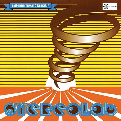 STEREOLAB - EMPEROR TOMATO KETCHUP (COLOURED VINYL)