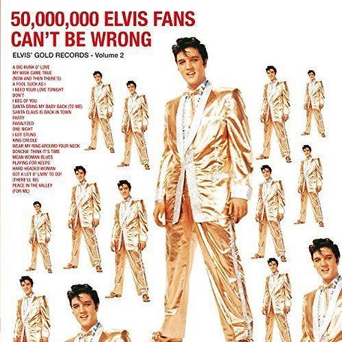PRESLEY, ELVIS - 50,000,000 ELVIS FANS CAN'T BE WRONG