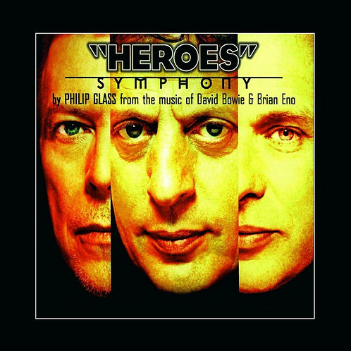 """BOWIE, DAVID (PHILIP GLASS) - """"HEROES"""" SYMPHONY"""