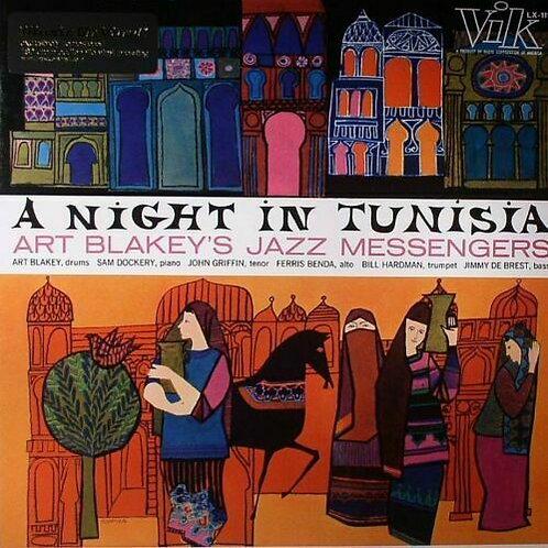 BLAKEY, ART JAZZ MESSENGERS - A NIGHT IN TUNISIA