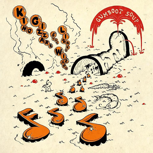 KING GIZZARD & THE LIZARD WIZARD - GUMBOOT SOUP (COLOURED VIN