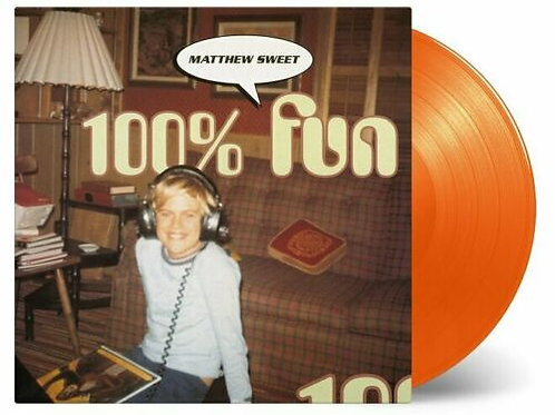SWEET, MATTHEW - 100% FUN (COLOURED VINYL)