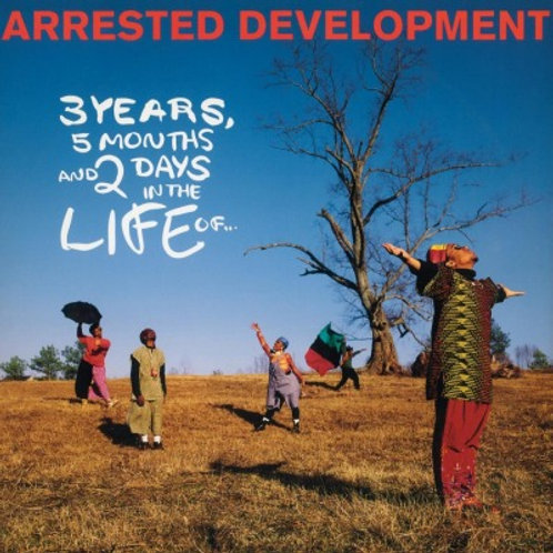 ARRESTED DEVELOPMENT - 3 YEARS, 5 MONTHS AND 2 DAYS... (COLOURED VINYL)