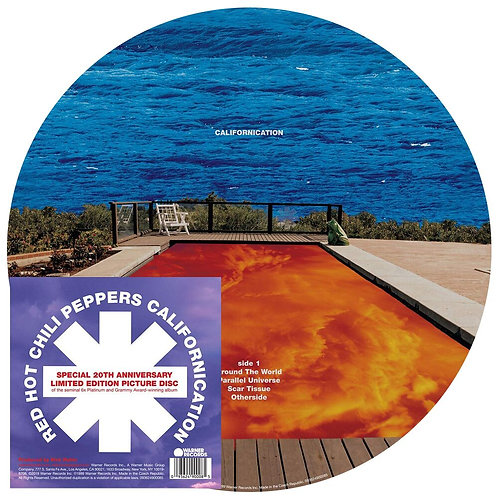 RED HOT CHILI PEPPERS - CALIFORNICATION (PICTURE DISC)