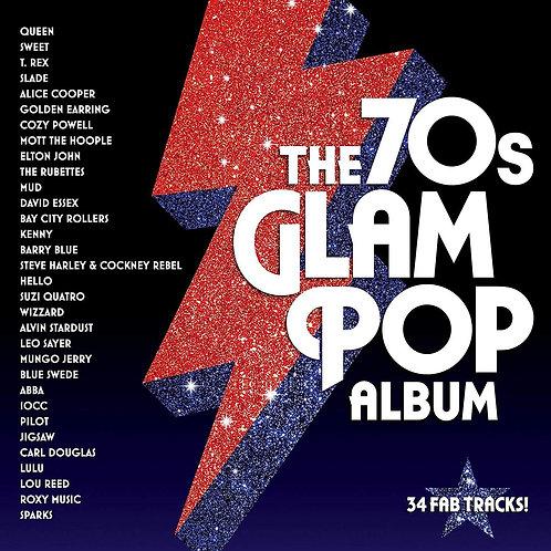 VARIOUS ARTISTS - THE 70s GLAM POP ALBUM