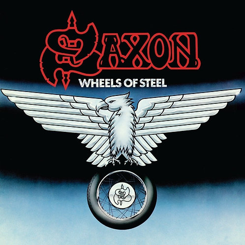 SAXON - WHEELS OF STEEL (COLOURED VINYL)