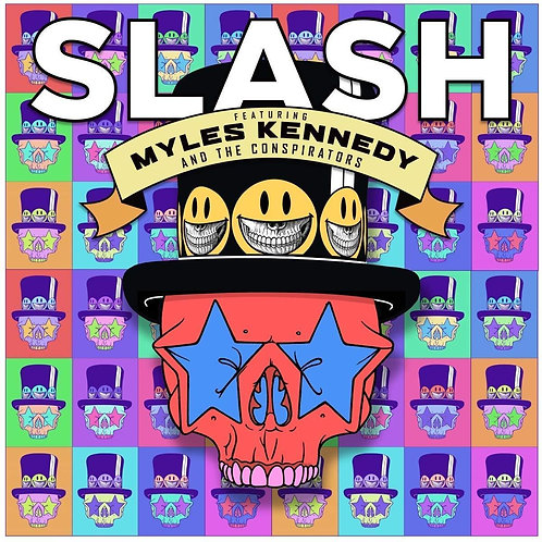 SLASH (FEAT. MYLES KENNEDY) - LIVING THE DREAM (COLOURED VINYL)