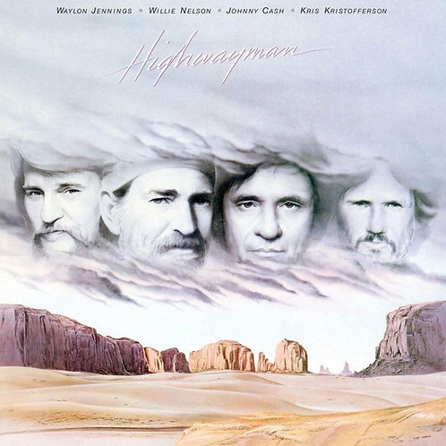 CASH, NELSON, JENNINGS, KRISTOFFERSON - HIGHWAYMAN