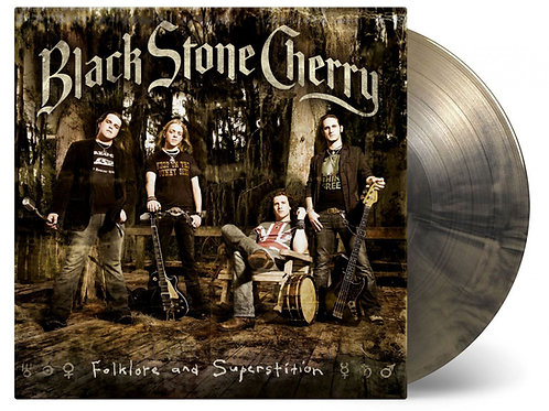 BLACK STONE CHERRY - FOLKLORE & SUPERSTITION (COLOURED VINYL)