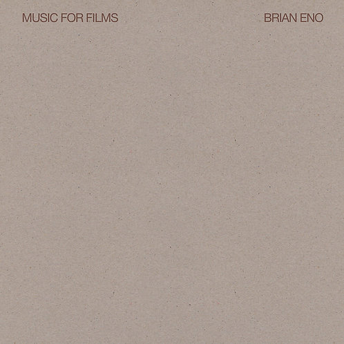 ENO , BRIAN - MUSIC FOR FILMS