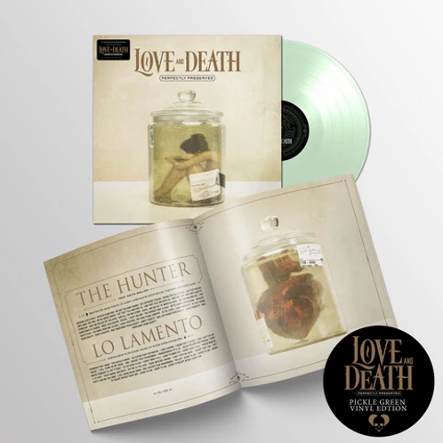 LOVE & DEATH - PERFECTLY PRESERVED (COLOURED VINYL)