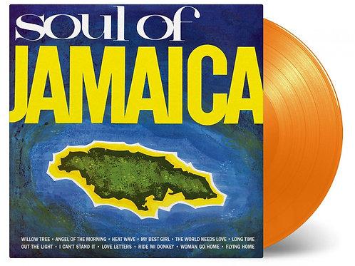 VARIOUS - SOUL OF JAMAICA (COLOURED VINYL)
