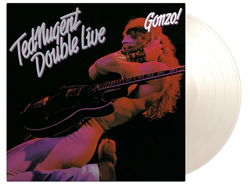 NUGENT , TED - DOUBLE LIVE GONZO (COLOURED VINYL)