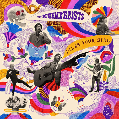 DECEMBERISTS - I'LL BE YOUR GIRL (COLOURED VINYL)