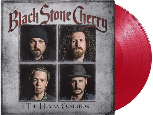 BLACK STONE CHERRY - HUMAN CONDITION (RED COLOURED VINYL)