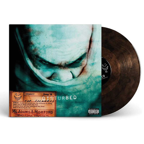 DISTURBED - THE SICKNESS (COLOURED VINYL)