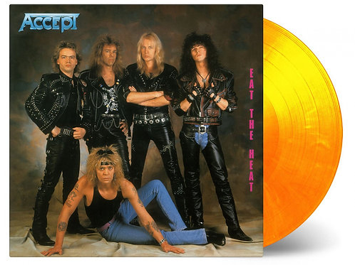 ACCEPT - EAT TO THE HEAT (COLOURED VINYL)