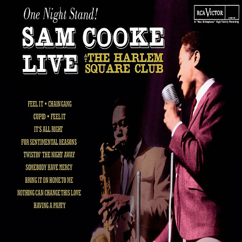 COOKE, SAM - ONE NIGHT STAND LIVE AT THE HARLEM SQUARE CLUB