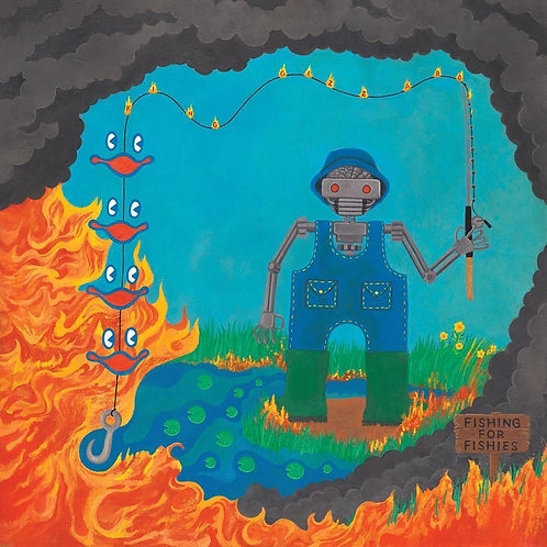 KING GIZZARD & THE LIZARD WIZARD - FISHING FOR FISHIES (COLOURED VINYL)