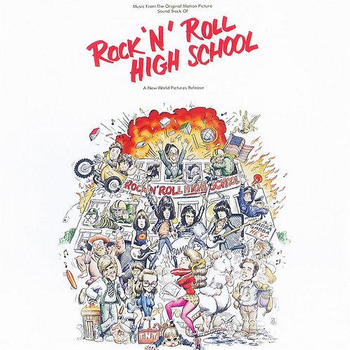 RAMONES - ROCK N ROLL HIGH SCHOOL (COLOURED VINYL)