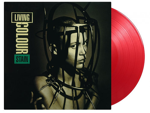 LIVING COLOUR - STAIN (COLOURED VINYL)