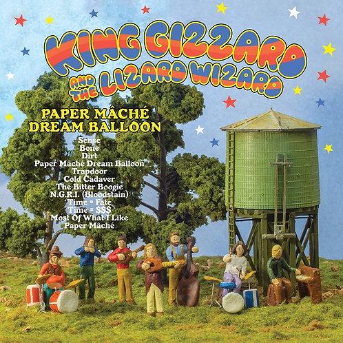 KING GIZZARD & THE LIZARD WIZARD - PAPER MACHE DREAM BALLOON (COLOURED VINYL)