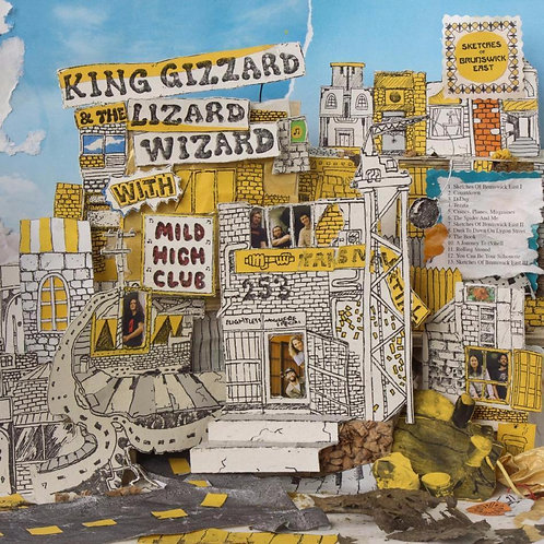 KING GIZZARD & THE LIZARD WIZARD - SKETCHES OF BRUNSWICK EAST (COLOURED VINYL)