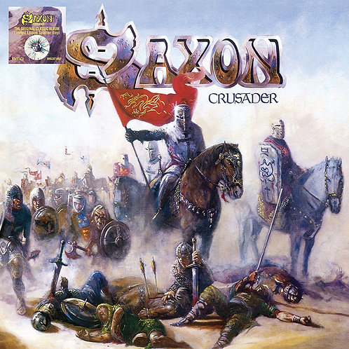 SAXON - CRUSADER (COLOURED VINYL)