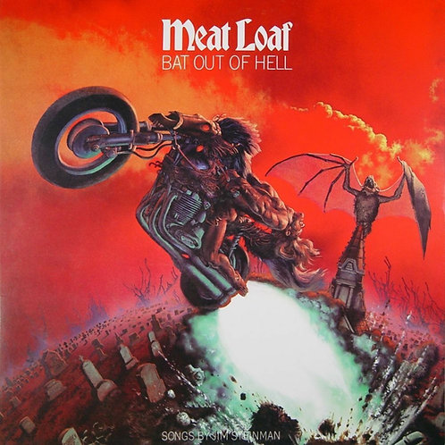 MEAT LOAF - BAT OUT OF HELL (COLOURED VINYL)