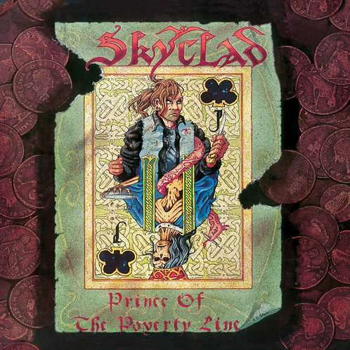 SKYCLAD - PRINCE OF THE POVERTY LINE (COLOURED VINYL)