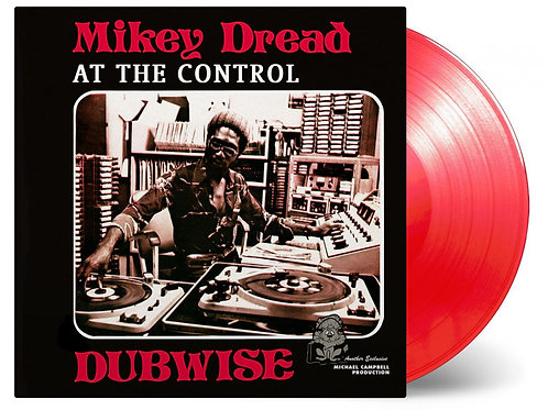 DREAD, MIKEY  - AT THE CONTROL DUBWISE (COLOURED VINYL)