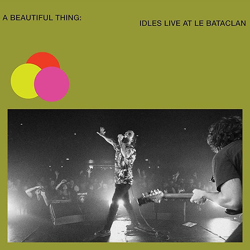 IDLES - A BEAUTIFUL THING: IDLES LIVE AT THE BATACLAN (COLOURED VINYL)