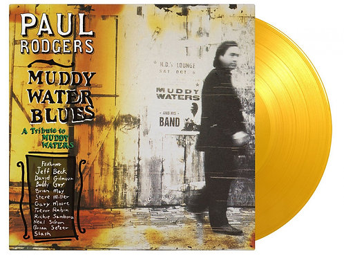 RODGERS , PAUL - MUDDY WATER BLUES (COLOURED VINYL)
